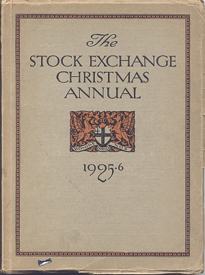Stock Exchange Christmas Annual 1925/6